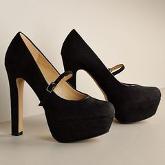 BLACK MARY JANE HEELS on The Hunt
