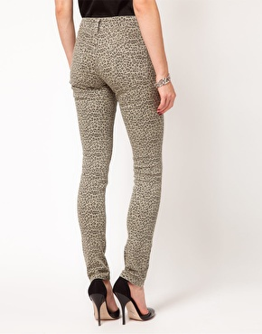 ASOS | ASOS Skinny Jeans in Animal Print at ASOS
