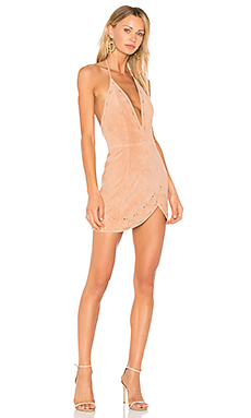X by NBD Charlotte Dress in Nude Baby Pink from Revolve.com