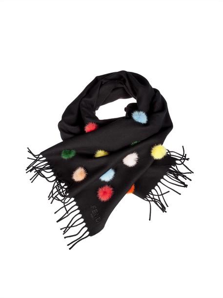 Fendi scarf black