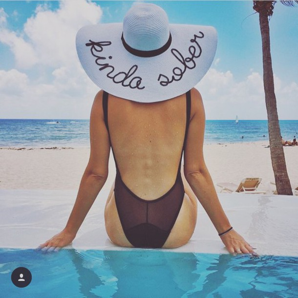 Pool Gift Ideas gift ideas a romantic stay at fregate island private Hat Summer Holidays Summer Summer Accessories Summer Beauty Sun Sun Hat Floppy Hat Straw Hat Beach