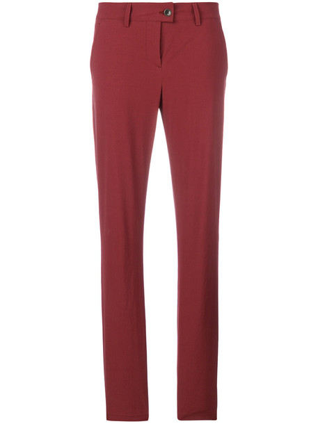 Tomas Maier women sporty red pants