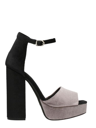 velvet sandals sandals black velvet grey shoes