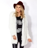 SASSTABULOUS KNEE LENGTH COAT - SASSTABULOUS KNEE LENGTH COAT - Blazers and Jackets
