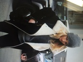 coat,black coat,fur,black,jacket,leather jacket,fur coat,winter coat,fourrure,zara,zara leather jacket,blogger,streetstyle,streetstytle,shot from the street