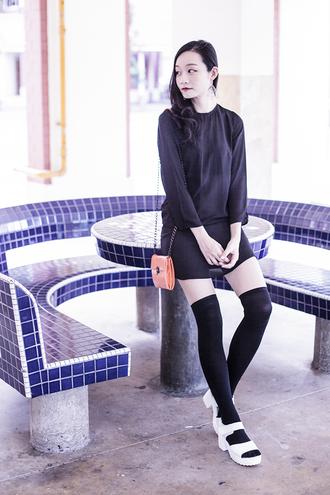 pupuren blogger dress shoes bag