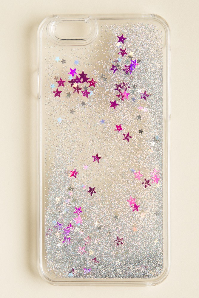 Brandy melville glitter and star iphone 6 case for Application miroir iphone
