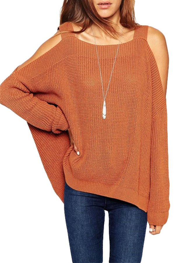 sweater creme beige beige sweater batwing blouse loose loose fit sweater large knitwear knitted sweater off the shoulder off the shoulder sweater loose sweater zaful fall outfits fall sweater back to school casual cardigan pullover outerwear top clothes solid straps hollow fall outfits outfit fashion streetstyle