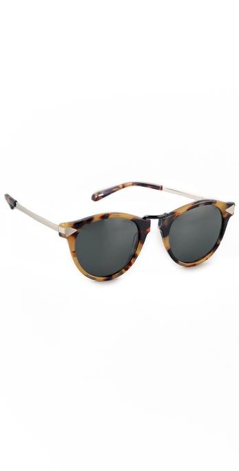 Karen Walker Helter Skelter Sunglasses | SHOPBOP