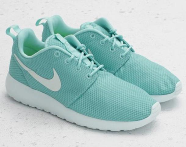 4468bfe9dbb6 Nike Free Run 5.0 Tiffany Blue Crystals