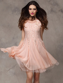 Pink Dresses Cheap For Women-Sheinside.com