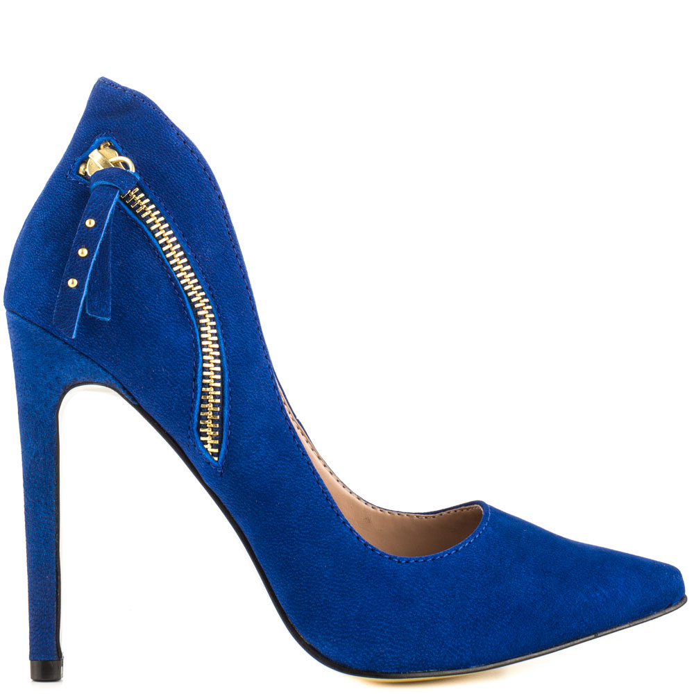 Madam - Blue Nubuck, Betsey Johnson, 109.99, FREE 2nd Day Shipping!