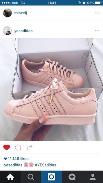 shoes tan/rose gold tip