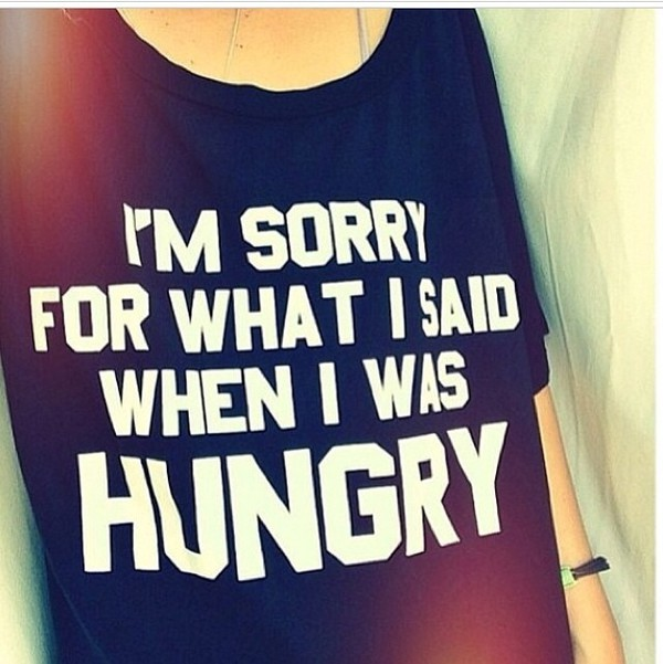 food black t-shirt new years resolution