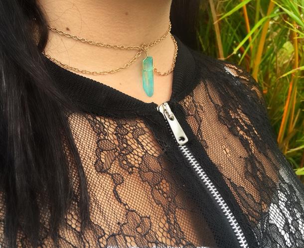 jewels crystal quartz jewelry y quartz boho choker gypsy necklace crystal gypsy halloween costume witch