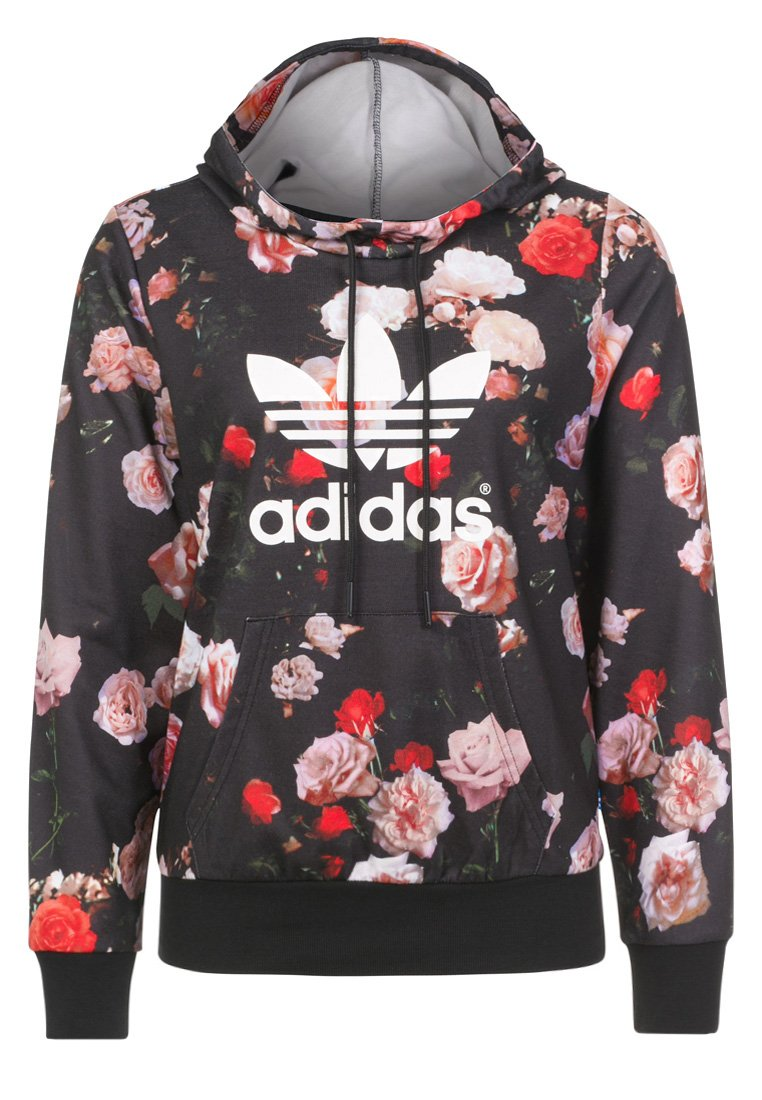 adidas originals sweat capuche noir zalando fr. Black Bedroom Furniture Sets. Home Design Ideas