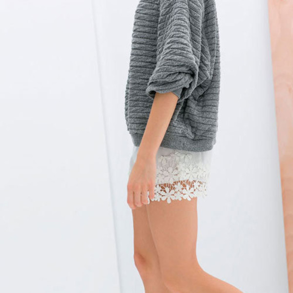 pants fashion clothes sweater
