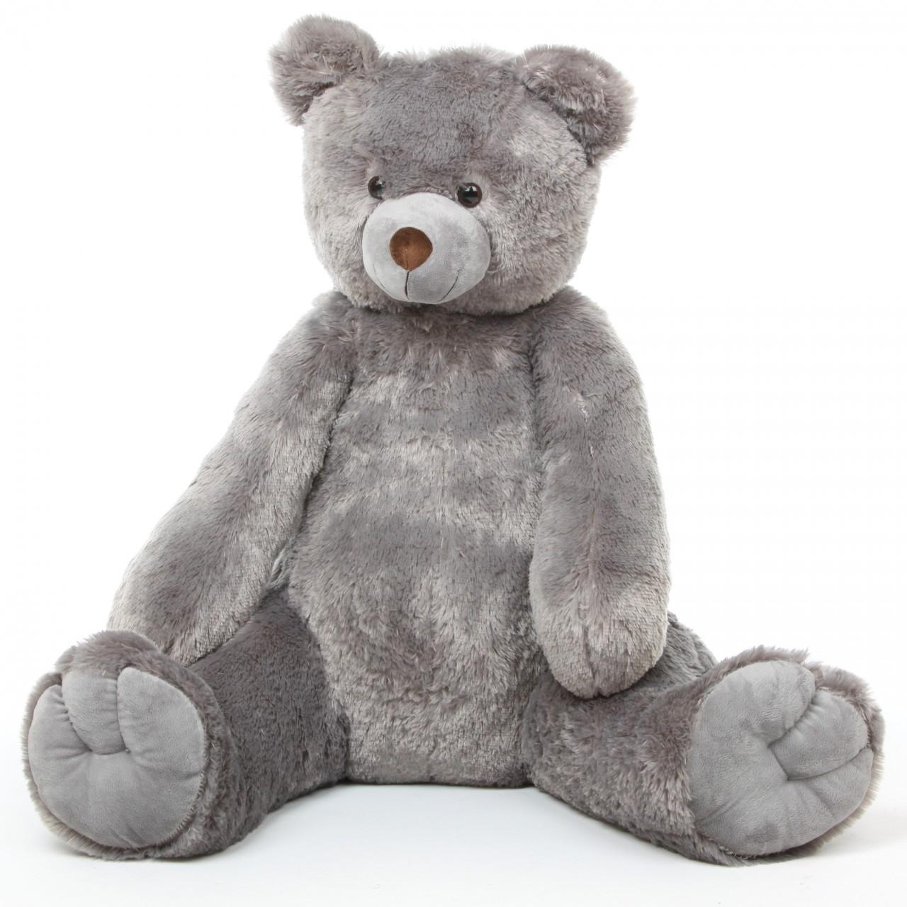Sugar Tubs Large Grey Cuddly Plush Teddy Bear 42in