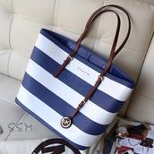 bag,michael kors,handbag,navy,sailor,navy bag,michael kors bag,stripes,sailor stripes