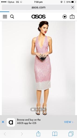 dress asos sequins mermaid sequin prom dress