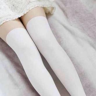 tights lolita kawaii japan ulzzang anime manga back to school socks fake retro vintage pastel goth stockings cosplay