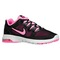 Nike air max fusion - women's - training - shoes - black/polarized pink/metallic silver/black