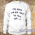 Too dumb for New York too ugly for LA Sweatshirt - teenamycs