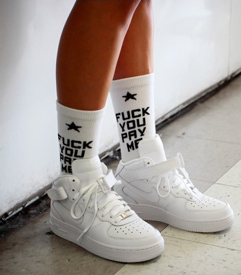 The fypm socks (2 pairs) / big momma thang