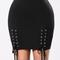 Expecting you skirt - black