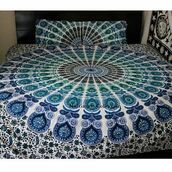 home accessory,indian tapestry,pillow ducet cover,mandal tapstry,multimatecollection,shabby chic duvet cover