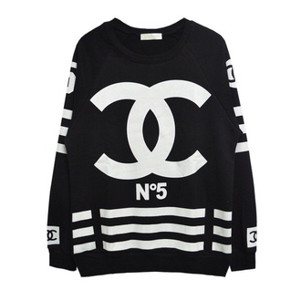 sweater chanel n.5 jersey www.ebonylace.net shirt black chanel inspired no. 5 top black chanel cc sweater blouse chanel sweater white