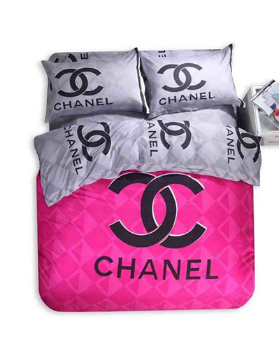 Inspired chanel bedding set
