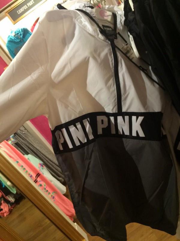 Victoria Secret Pink Windbreaker - Shop for Victoria Secret Pink