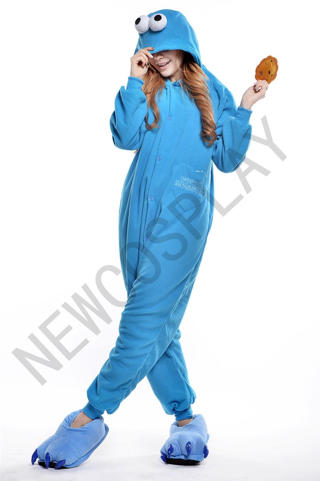 Blue Sesame Street onesie by NEWCOSPLAY ONESIE