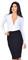 Vixen deep v neck long sleeve bodysuit