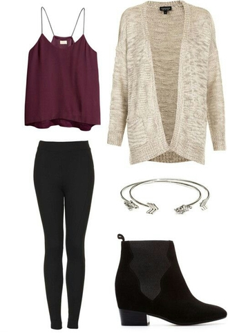 shoes top blouse burgundy cardigan fall outfits fall sweater