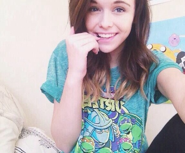 t-shirt acacia brinley ninja turtles