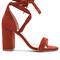 Raye x revolve layla heel in terracotta suede from revolve.com