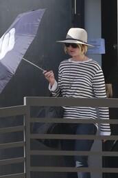 sweater,stripes,jennifer lawrence,bag,fall outfits