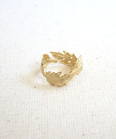 louun — Feather Ring