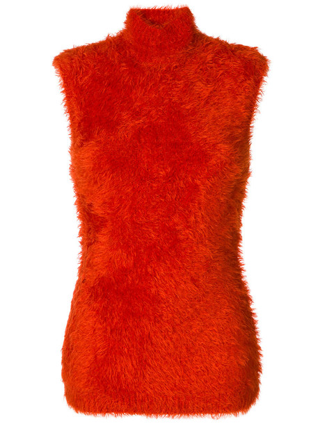 MARNI top sleeveless women yellow orange