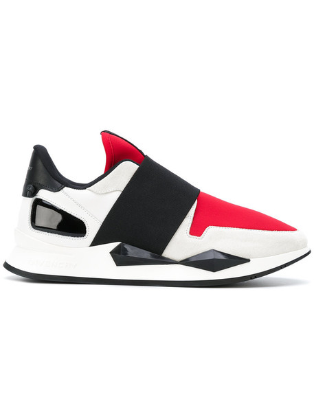 Givenchy women sneakers leather white cotton shoes