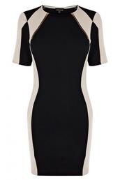 dress,black,white,bodycon,bodycon dress,zip,long sleeves,black bodycon,underwear