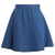 ROMWE | High Waist Dark Blue Denim Skirt, The Latest Street Fashion