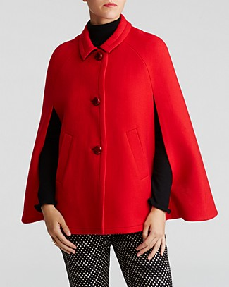 Kate spade new york wool cape