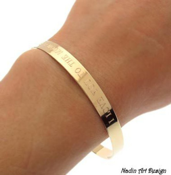jewels gold bracelet gold bracelet personalized gold cuff text