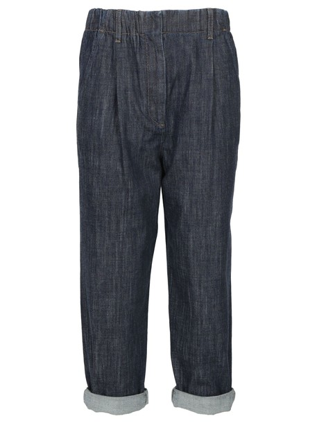 BRUNELLO CUCINELLI pants denim blue