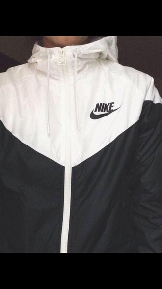 coat nike sweater nike running shoes nike air nike nike sneakers nike jacket white black shirt jacket zipup hoodie hooded jacket sweatshirt