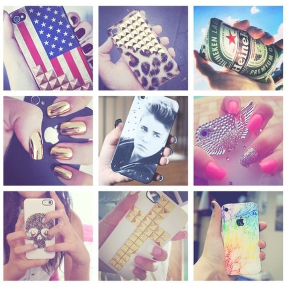 phone case nail polish phone cases phone cases pastel studded phone case