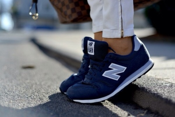 new balance blue. shoes: blue, light new balance, women, white, navy balance - wheretoget blue